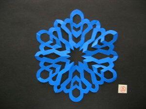 桜まあちによる切り紙の作り方(12折り)