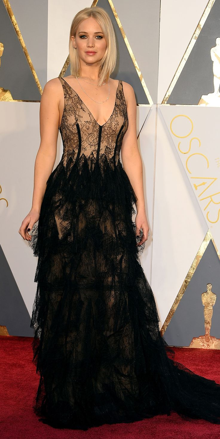 2016 Oscars Red Carpet Photos - Jennifer Lawrence - from InStyle.com