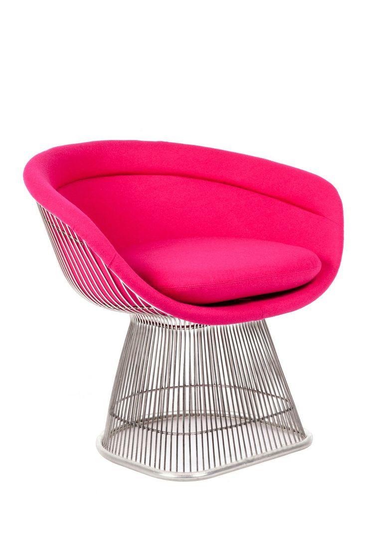Oval lounge chair - The Pella Rose Silver Arm Chair