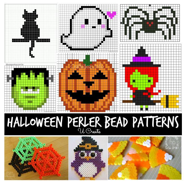 Halloween Perler Bead Patterns!! The kids love these!