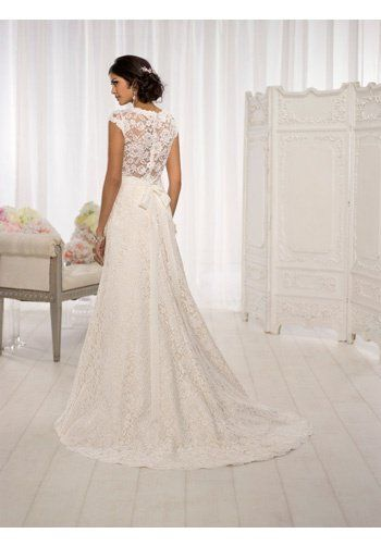 Essense of Australia D1598 A-Line Wedding Dress