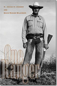 One Ranger, A Memoir (2005) - Texas Ranger H. Joaquin Jackson posed here with his custom Winchester Model 1894 .30-30 (shorty) & Colt Combat Commander in .45 ACP. Ranger Jackson was assigned to a wide swath of the Texas-Mexico border from 1966 to 1993. Ranger Jackson retired from the Texas Rangers in 1993. He currently lives in Alpine, Texas, where he is the owner and operator of a private investigations firm.