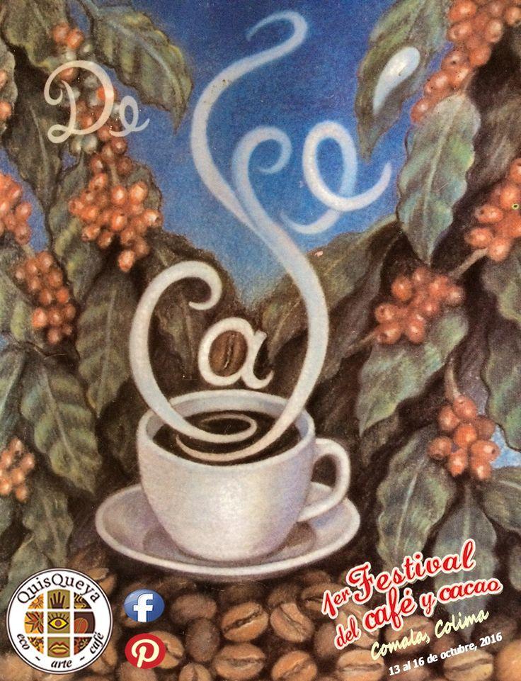 Seguimos con el programa del 1er. Festival del café y cacao. Hoy a las 19:30 horas en QuisQueya eco-arte-café degustaremos doblemente café. Arcelia Pérez Magaña nos ofrecerá unas agradables lecturas dedicadas al aromático, que desde luego saborearemos al unísono con un café La FLOR de Suchitlán.