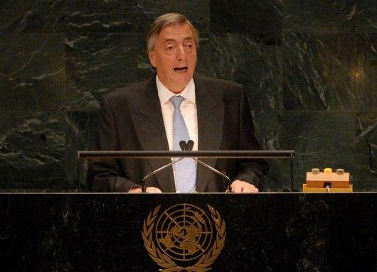 SEPTIEMBRE 25, 2007 Discurso de Néstor Kirchner en la ONU, 2007