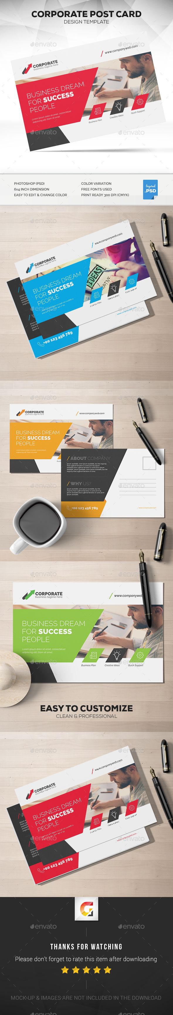 Best Direct Mail Images On Pinterest Postcard Design Marketing - Card template free: postcard mailing template