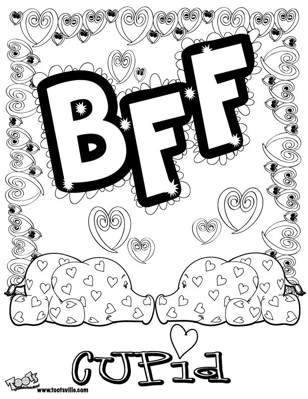 bff coloring pages to download and print for free kleurplaten voor mijn bffs pinterest coloring free printable coloring pages and coloring sheets