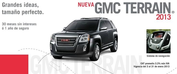 GMC México vehículos de lujo – Descubre el mundo a bordo de una Camioneta, Crossover, SUV y Pick up de lujo GMC 2012