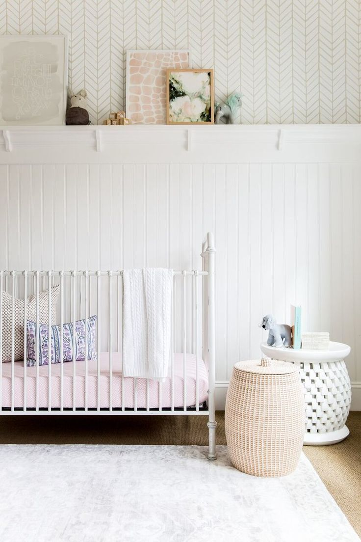 Nursery | Foothill Drive Project | Studio McGee /// bright white and airy nursery