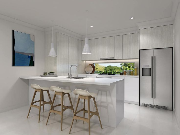 Small and Co Portfolio, Ascot Terraces 3D Render - Kitchen