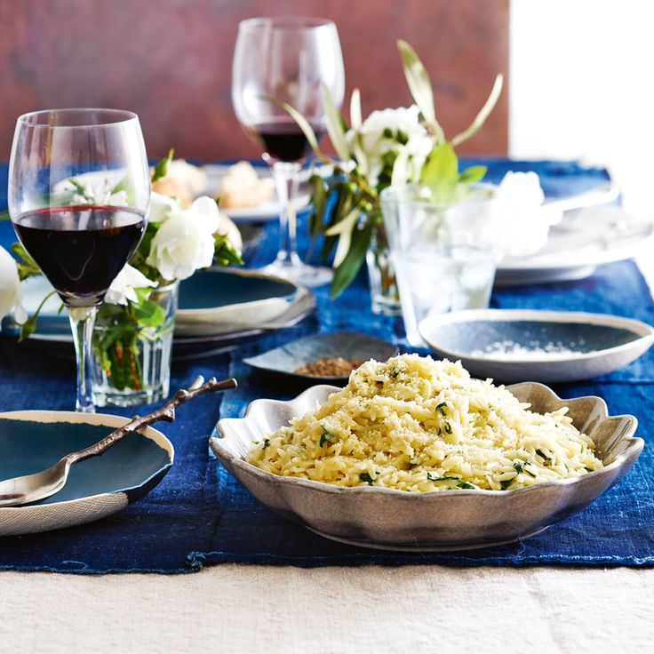How to make Risoni with Spinach & Parmesan #Risoni #Spinach #Parmesan #Winter #Recipe