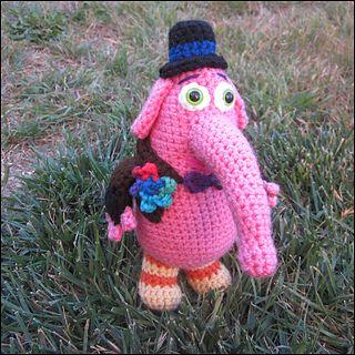 Ravelry: My Imaginary Friend - Bing Bong - Inside Out crochet pattern by Melissa's Crochet Patterns — $5.00 USD