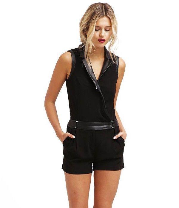 Acheter Combinaison Femme – Noir – Short – Shibis Morgan