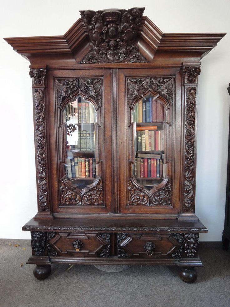 herrenzimmer danziger barock antik standuhr schreibtisch stuhl st hle tisch m bel. Black Bedroom Furniture Sets. Home Design Ideas