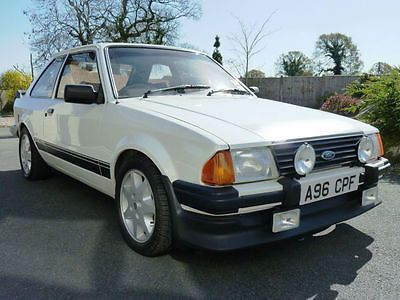 FORD ESCORT RS1600i Mk 3, 1983/A, ONE OF THE BEST, MOT MARCH 2015   - http://www.fordrscarsforsale.com/5911