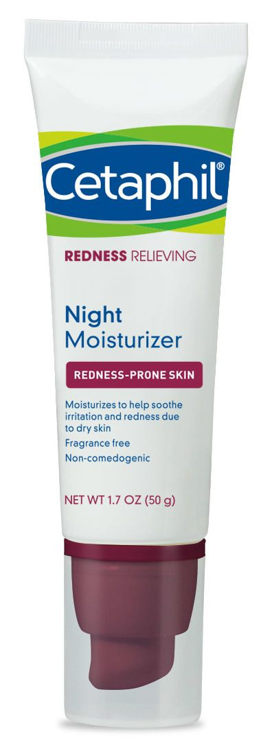 Cetaphil Store - Redness Relieving Night Moisturizer (https://www.cetaphil.com/redness-relieving-night-moisturizer/) For mom