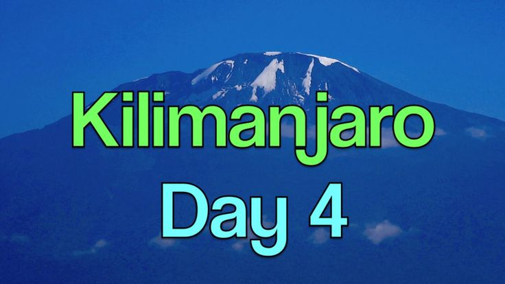 Mt. KILIMANJARO - DAY 4 - 2 LADIES 12 MEN 7 DAYS - Barranco Wall - Kis...
