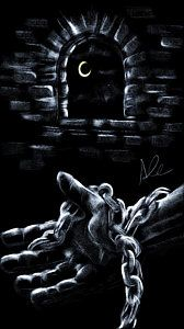 Drawing - Chains by Alessandro Della Pietra