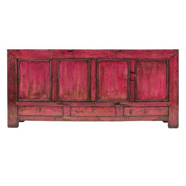 Antique Bright Pink Buffet www.theimporter.co.nz