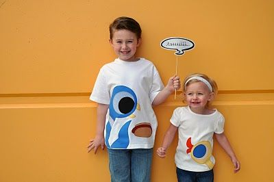 The Pigeon Shirts OR Silly Spring Shirts for Silly Kids