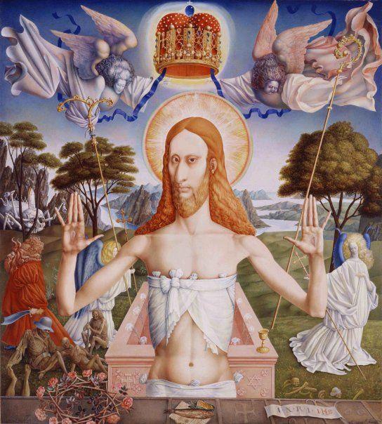 Resurrection of Christ, by Ernst Fuchs