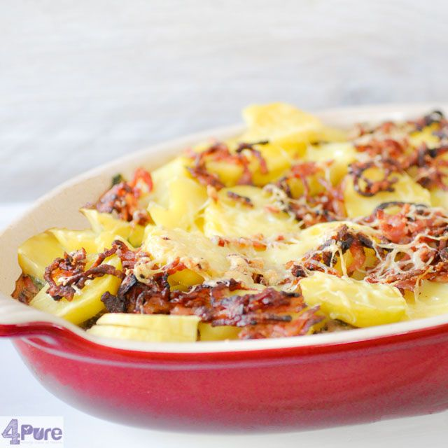Endive casserole - true winter comfort food. Easy to be prepared and try something different with endive.
