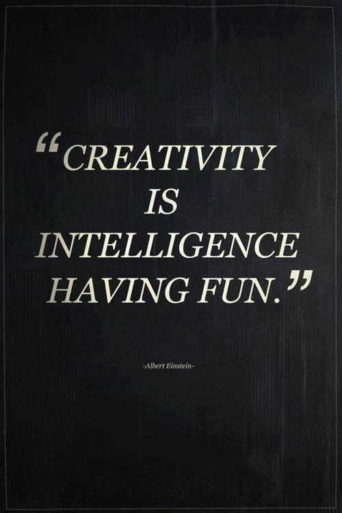 Creativity is... #quote