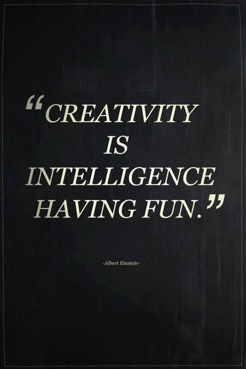 Creativity is... #quote