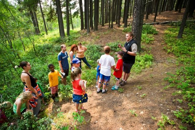 School Groups of all ages and sizes will enjoy the outdoor classroom experiences that the Cypress Hills Destination Area provides.