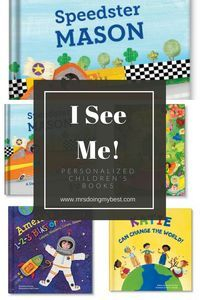 I See Me Personalized Children's Books   Gifts for kids   Unique gifts   Book gifts   Personalized Gifts