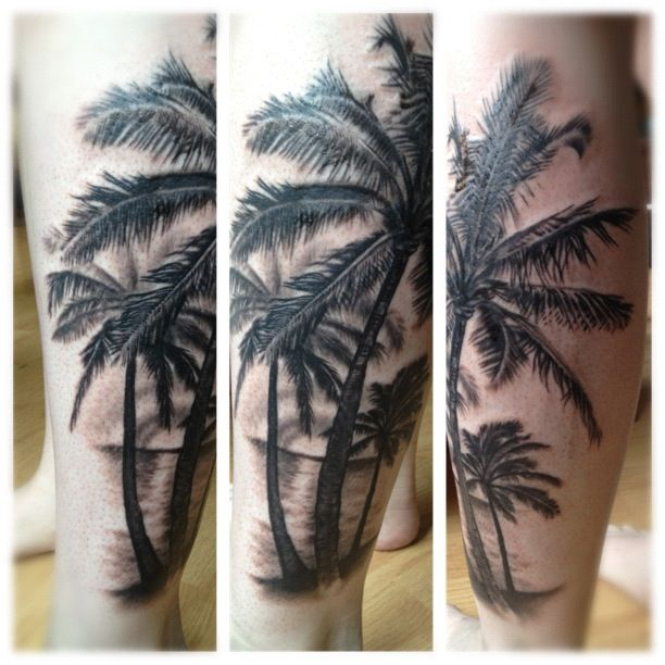 Top 9 Stupendous Palm Tree Tattoos For Women And Men