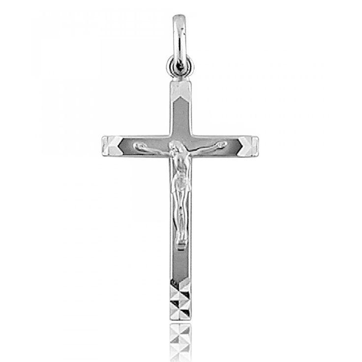 Pendentif croix Lourdes - Bijoux GL