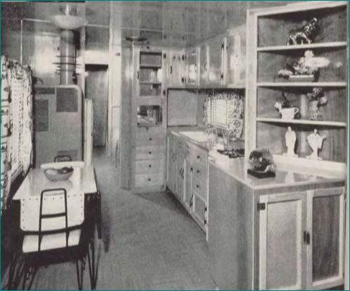 Mobile Home Kitchens From 1955 To 1960 Silver Star Kitchen