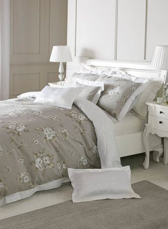 Holly Willoughby grey Abelle bedding