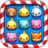 Play this cute match 3 game for free! Match the kitty, bunny and bear to score points and win coins. Save the pets and they'll help you progress through the different levels with great power-ups. Come and play in this magical animal puzzle world!