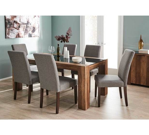 Chicago 6 Seater Dining Table 6 Seater Dining Table Dining Table Dining Room Decor Chicago discount dining room furniture