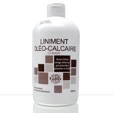 Gifrer Liniment Oleo Calcaire 500ml - Pharmacie Lafayette - Liniments