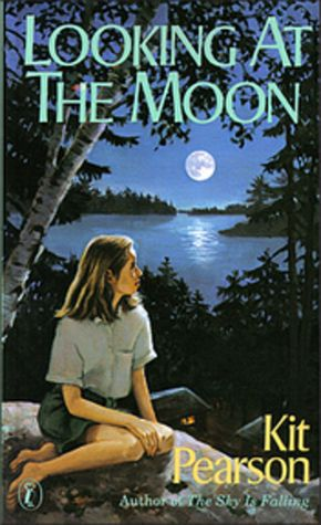 """PBHF F PEA Looking At The Moon. Norah, an English """"war guest"""" living with the wealthy Ogilvie family in Toronto, can hardly wait for August. She'll spend it at the Ogilvie's lavish cottage in Muskoka. But this isn't an ordinary summer. It's 1943, and the war is still going on. Then a distant Ogilvie cousin, Andrew, arrives. He is nineteen, handsome, intelligent, and Norah thinks she may be falling in love for the first time."""
