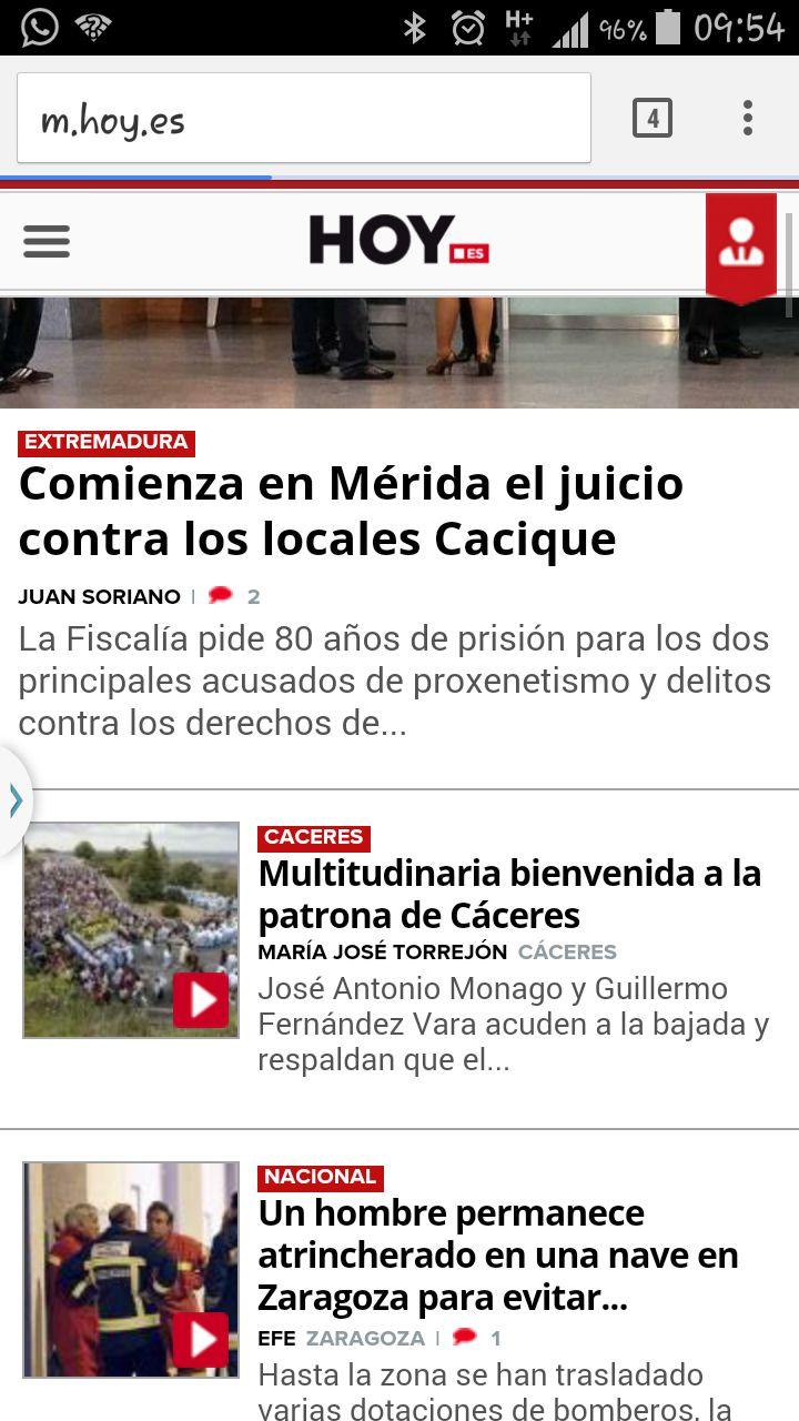 Y las noticias de nuestra región y de España.