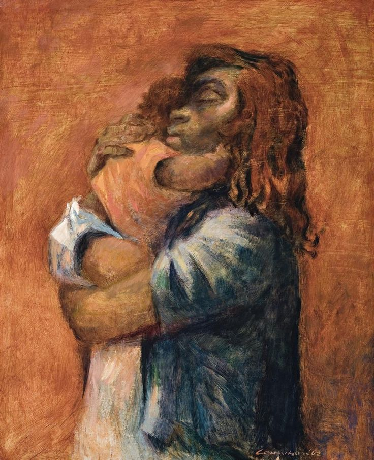 NOEL COUNIHAN Aboriginal Mother and Child 1962