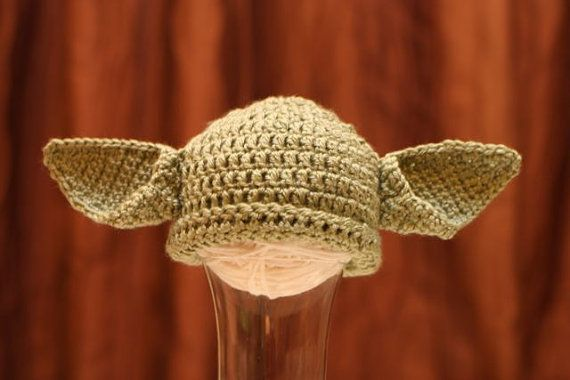 Little Yoda!: Boys Or Girls, Yoda Hats, Crochet Baby Hats, Crochet Hats, Inspiration Crochet, Stars War, Star Wars, Future Kids, Photography Props