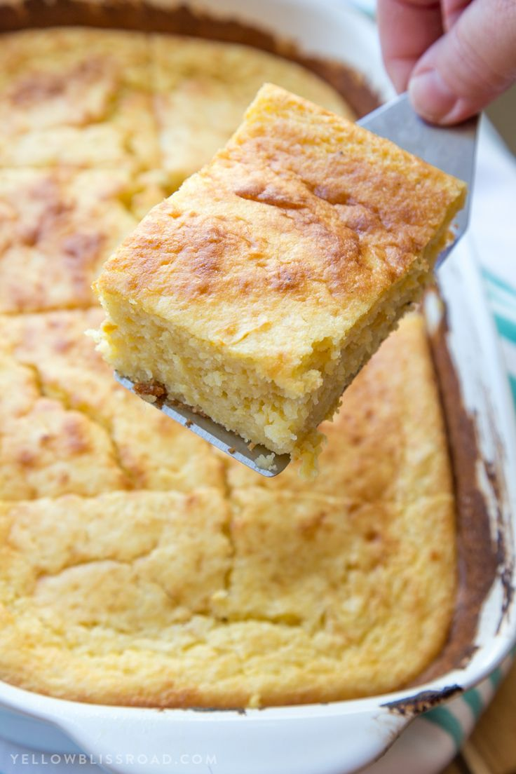 Sour Cream Cornbread | Recipe