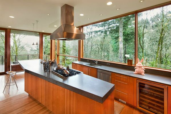 What a beautiful kitchen - Mill House My heart breaks in longing over so many windows!!!!!