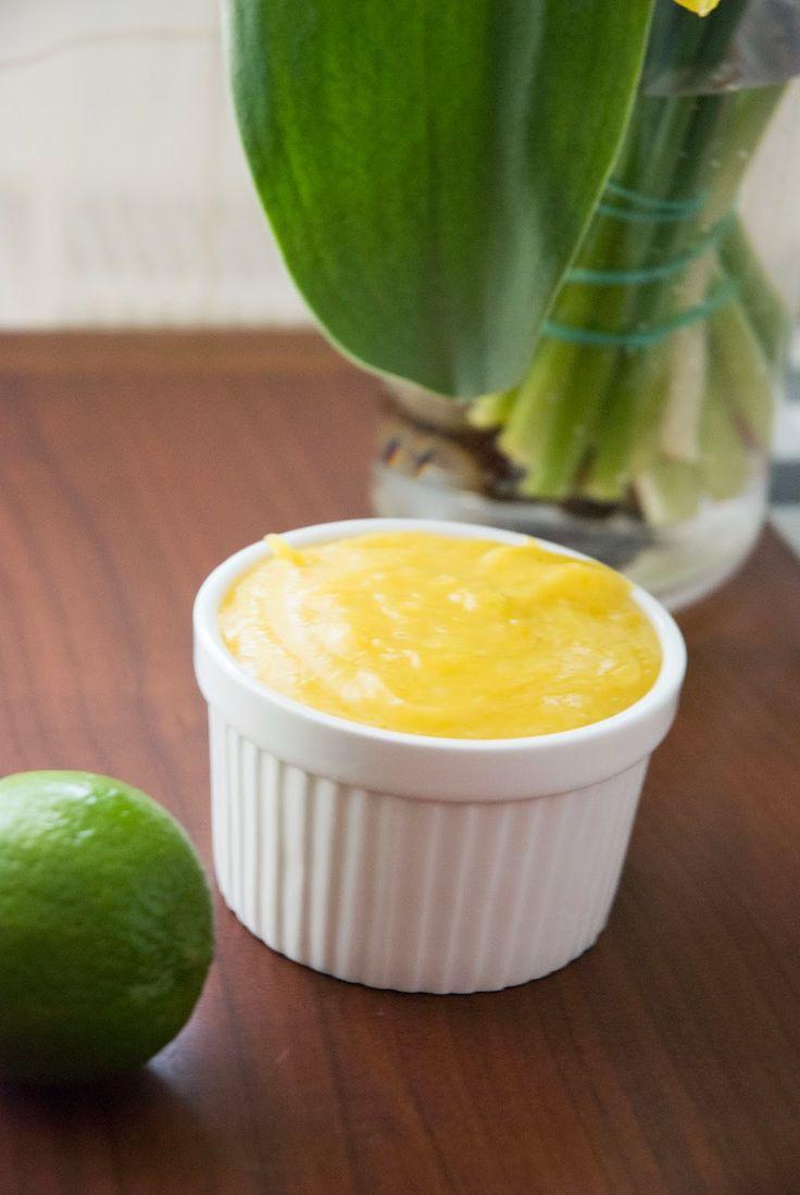Cardamom: Lime curd