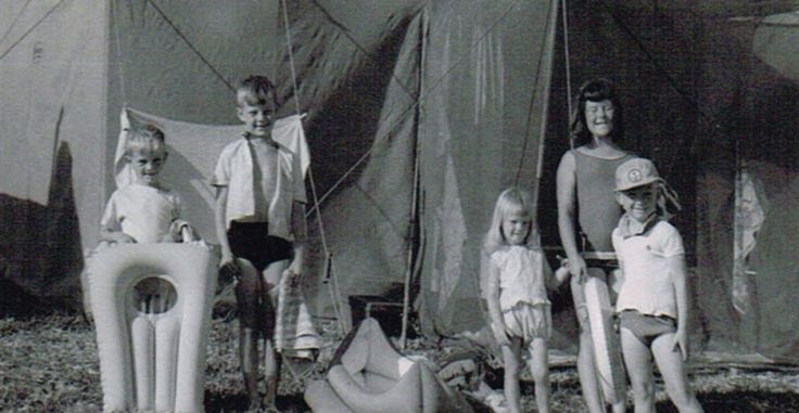 Barry Du Bois - family camping