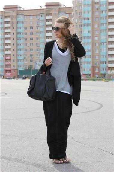 Инна — Сумка Alexander Wang, Футболка Zadig, Платье American Apparel