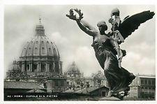 Italy 1930s Real Photo Postcard Roma Rome - Cupole di S. Pietro