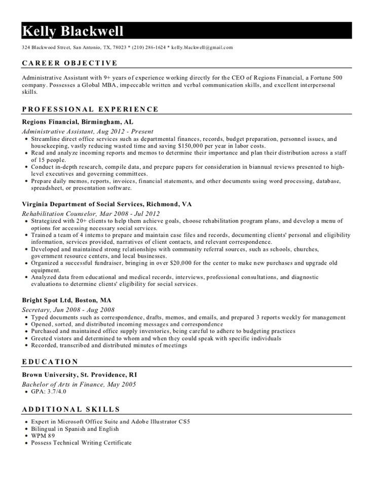 Best 25+ Resume builder ideas on Pinterest Resume builder - secretary skills resume