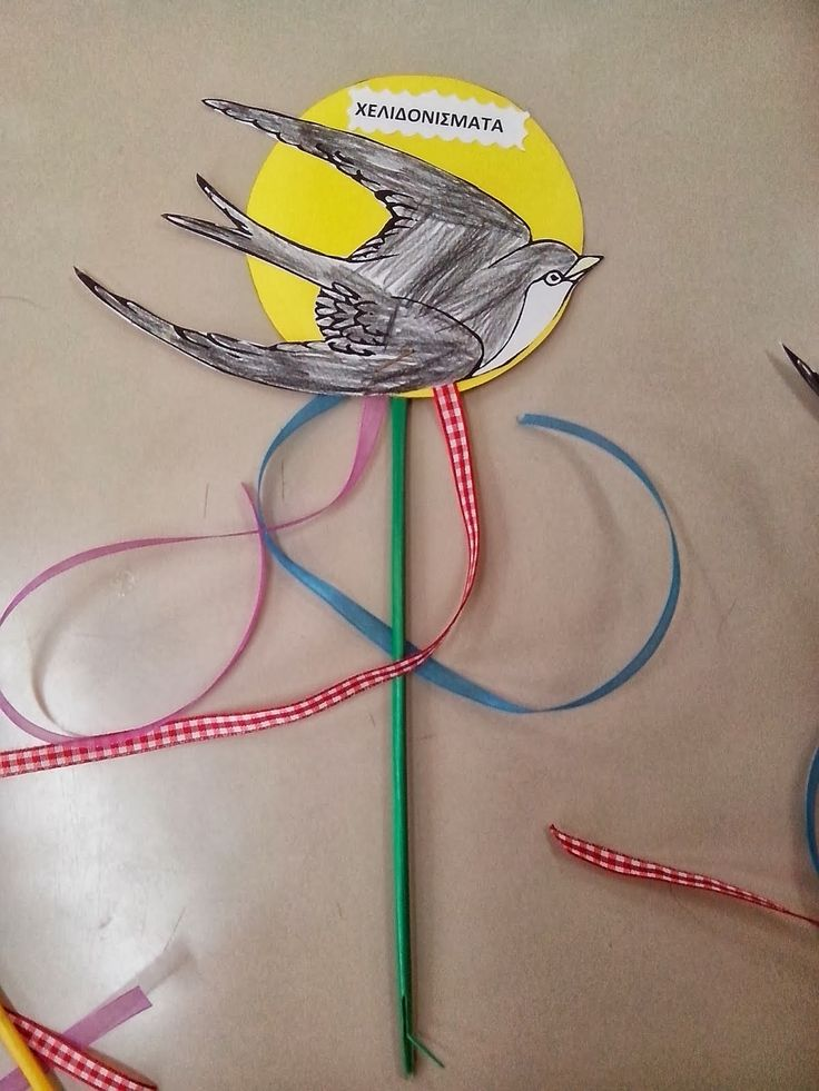 Maro's kindergarten: Τα πρώτα μας Χελιδονίσματα!