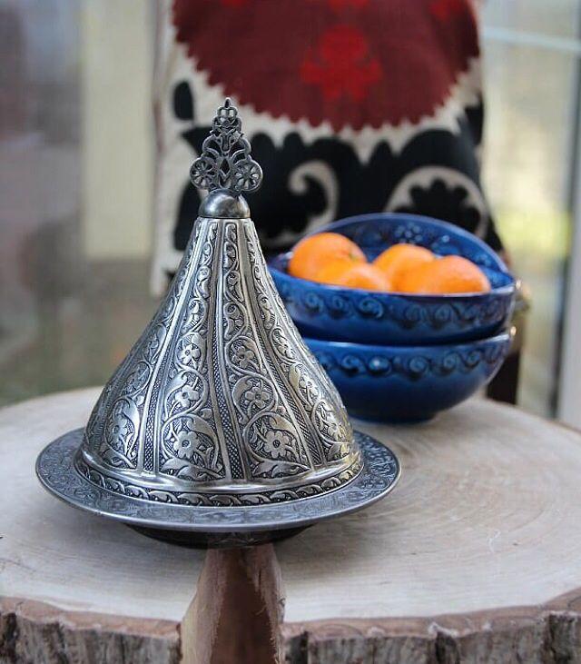 Turkish Copper Sugar Bowl by www.grandbazaarshopping.com