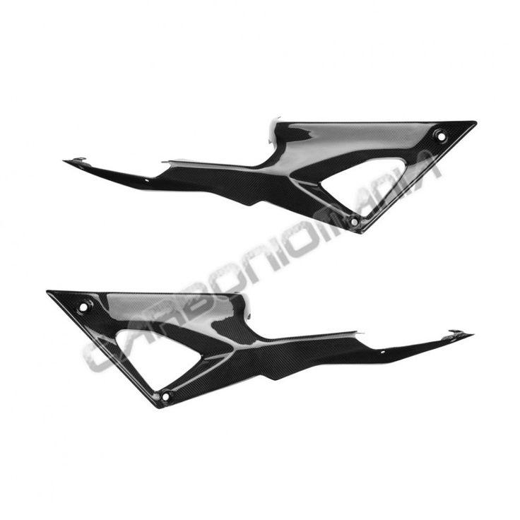 Pannelli laterali serbatoio in fibra di carbonio per Ducati 848 1098 1198 Performance Quality - cod. PQD46